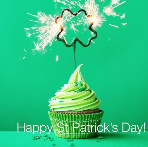 Cupcake to celebrate St Patrick's Day